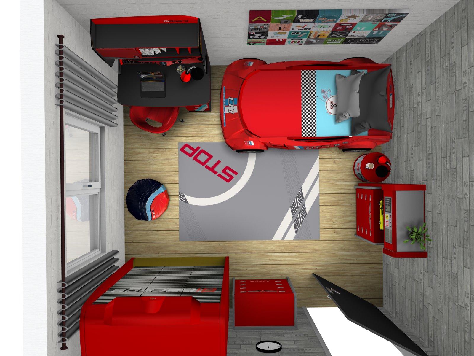 01304b85695a 3D návrhy detských a študentských izieb