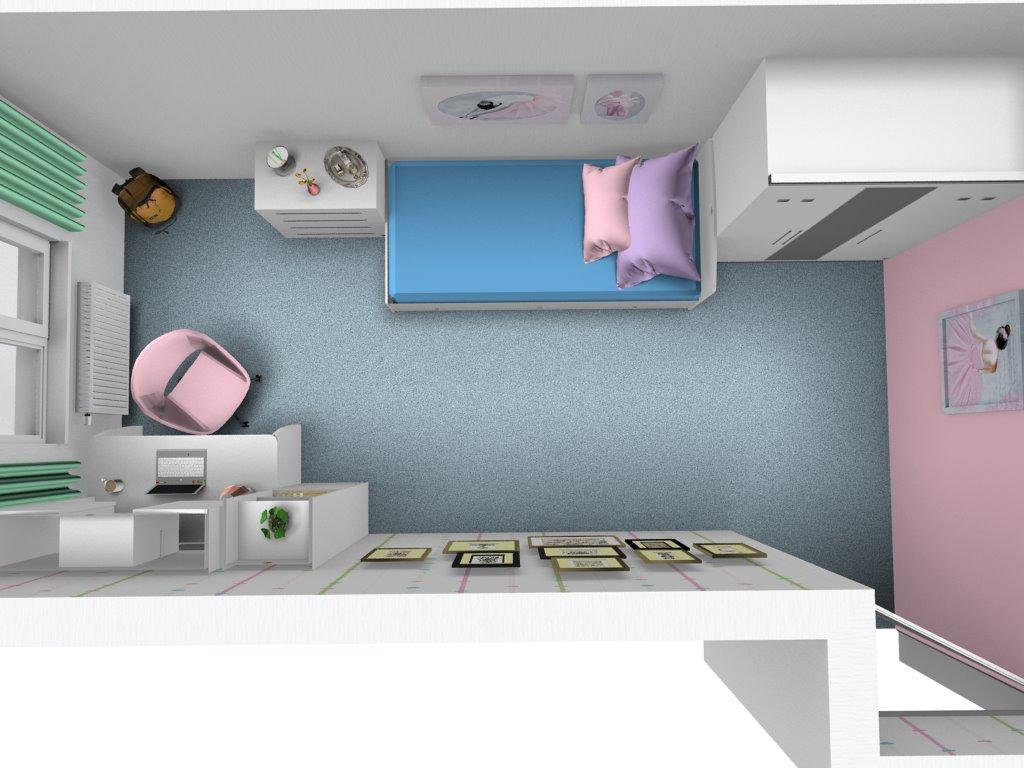 0b37a006e7318 3D návrh detskej izby White - Hezký detský nábytok