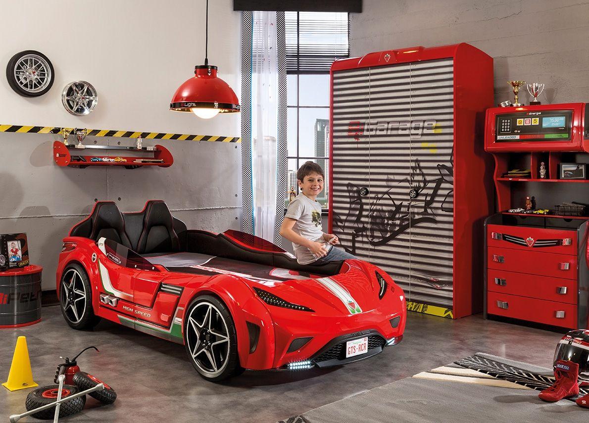 54b0a972c1c4 Detská izba pre chlapca Champion Racer - Hezký detský nábytok