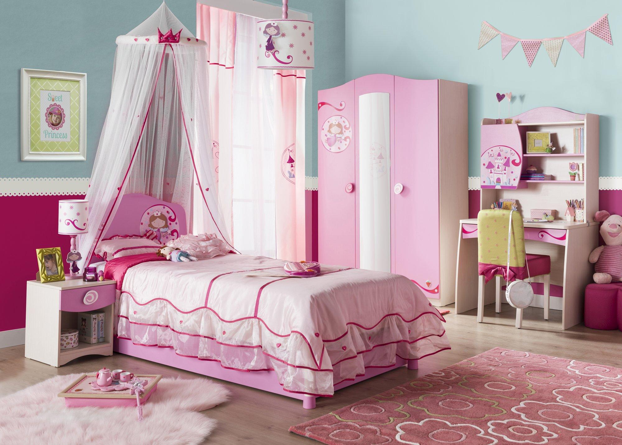 8adcfb379a1e Detský nábytok pre dievčatá Princess - Hezký detský nábytok